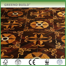 Rose wood Wenge indoor art parquet wood floor