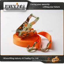"Customized 2"" cargo lashing with plastic handle"
