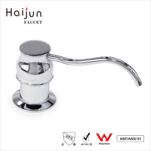 Haijun Wholesale Direct Custom Round Plastic Liquid Foam Soap Dispenser