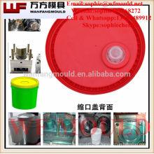 Molde da tampa da cubeta da produção do fornecedor da porcelana / molde da tampa da cubeta da pintura da injeção plástica / molde da tampa do balde do produto para casa