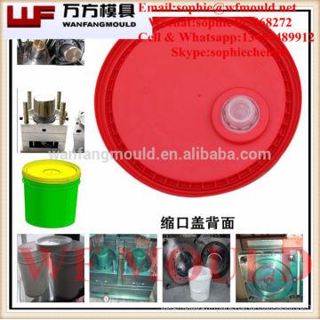 couvercle de seau production moule Chine / injection de plastique moule de couvercle de seau peinture / moule de couvercle de produit