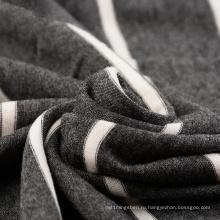 Окрашенная пряжа 94% вискоза 6% спандекс полоса ткань