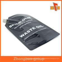 Pochette en aluminium anti-éponge en aluminium avec bec verseur pour huile 200 ml 500 ml
