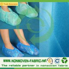 Tissu de TNT de livraison rapide pour des couvertures médicales de chaussure