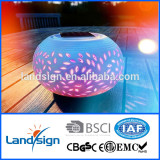 High performance Cixi landsign XLTD-511-1 solar ceramics jar light