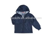 Boys' Uniform Regular Fit Transitional Hooded Jacket