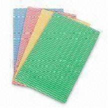 Нетканые материалы, Ткань для очистки