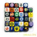 LOGO Engraving Board Game Dice 16MM for Sale