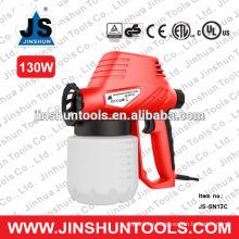Pistola de pulverización de pintura de pistola de fibra de vidrio eléctrico base JS-SN13C130W