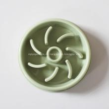 Kundenspezifische Plastiklabyrinth-Haustier-langsame Zufuhr-Schüssel