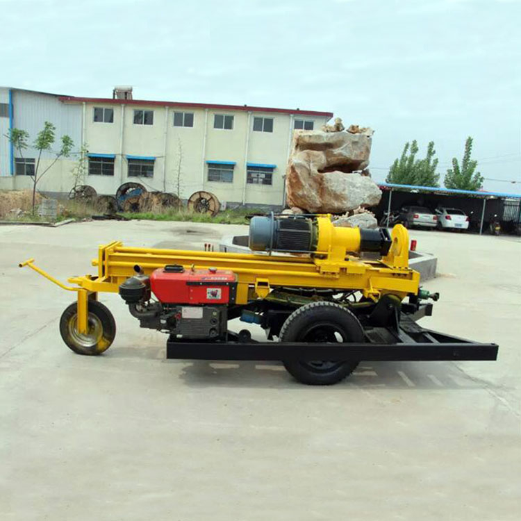 Wheel Type Water Well Drilling Rig