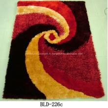 Polyester Shaggy avec tapis tapis Design