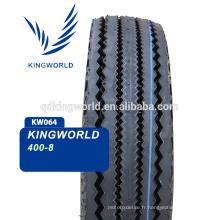 Trois pneus de pousse-pousse automatique wheeler