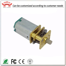 12v 12mm DC Gear elektrische printer motor