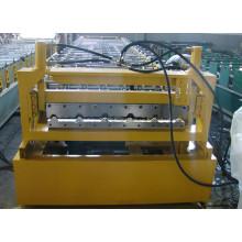 Rouleau d'acier de couleur de toiture IBR formant la machine