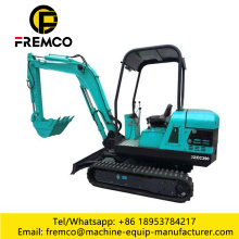 Small Excavator with Famous Brand Engine
