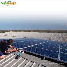 Bluesun 7kw réseau attaché kit système d'énergie solaire solar fotovoltaico