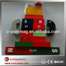 High quality Various types educational alnico magnets
