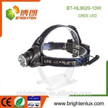 Fábrica profesional Venta al por mayor Aluminio 2 * 18650 Linterna recargable Lámpara de gran alcance llevada de gran alcance para los militares