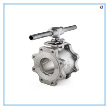 Válvula Borboleta de Aço Inoxidável Tipo Vácuo
