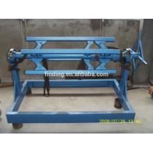 China máquina de Desbobinador de bobina de aço manual simples