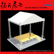 150x150mm Round Yellow Shanghai Concert Stage Roof Truss