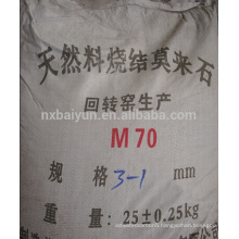 high purity Fused Mullite for refractory