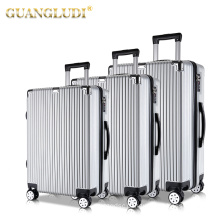 New trend Wholesale ABS+PCTravel Luggage bag set