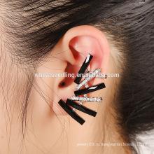 Дешевые специальные конструкции горный хрусталь бисера обложка серьги уха манжеты