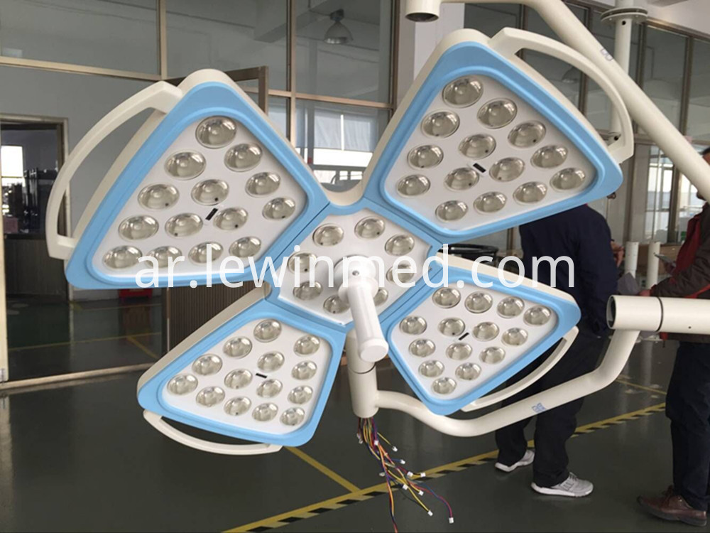 Medical equipment shadowless lamp