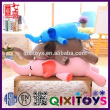 2017 Nouveau produit en gros de haute qualité personnalisé doux bébé jouets en peluche éléphant