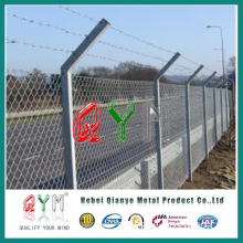 Qym-PVC Coated Chain Link Wire Mesh