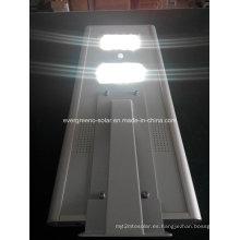 Farola LED solar Luz de calle solar todo en uno