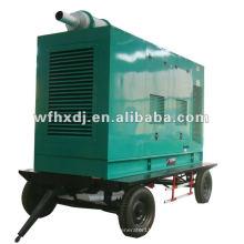8-1500kw gerador diesel montado