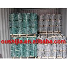 Heißes Produkt verzinkt Stacheldraht mit hoher Qualität (Fabrik)