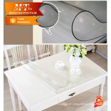 Proteção de móveis PVC filme plástico macio para lençóis de mesa