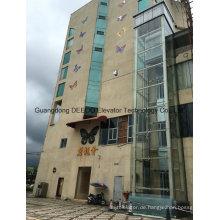 Kommerzieller Wohnpanoramischer Glasaufzug