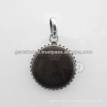 Драгоценный камень подвески Оптовая продажа 925 стерлингового серебра подвески