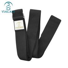 yugland adjustable yoga bag pack straps black cotton exercise strap yoga belt