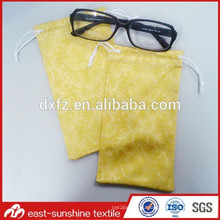sublimation printing pouch,eyeglass bag,microfiber bags