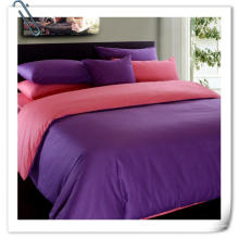 Folha de cama 100% algodão colorido Desgin