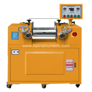 Rubber lab two roller mxing mill