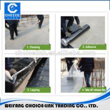 composite waterproof self adhesive roofing felt/underlayment