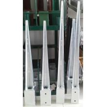 Galvanized square pole anchor