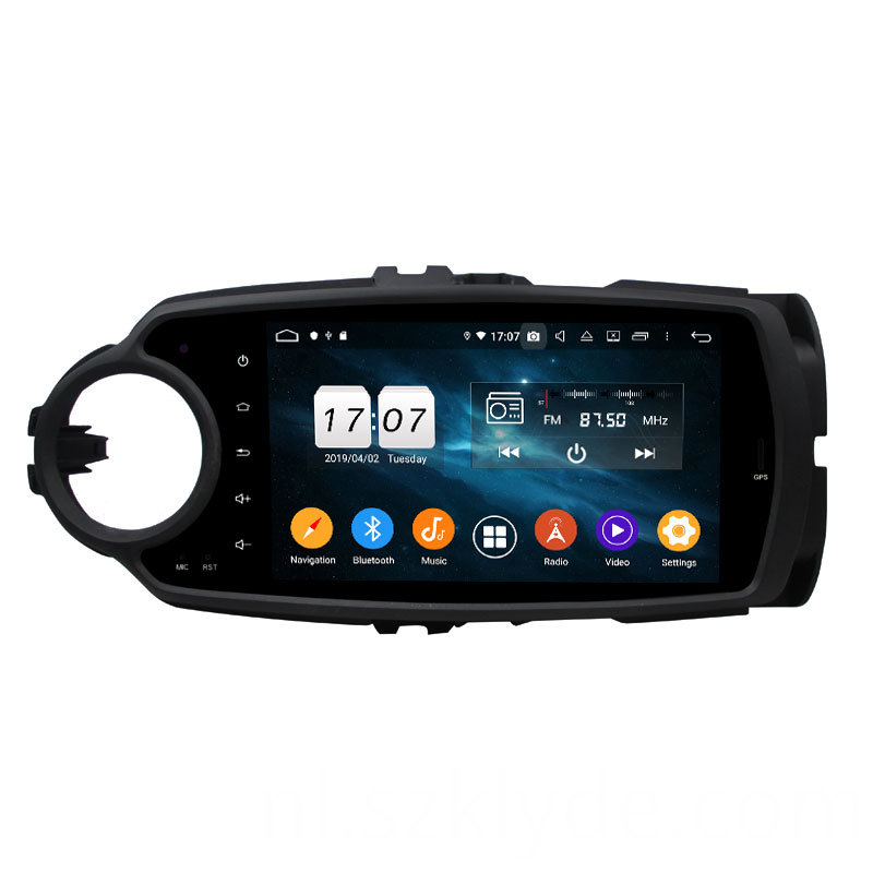 octa core car stereo yaris 2018