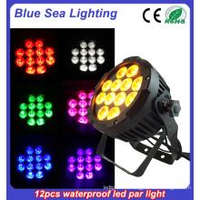 Партия шоу эффект водонепроницаемый пар свет LED DJ события открытый пар uplight / 12X18W 4in1 привело свадебный свет