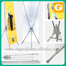 standard x banner, easy banner stand, folding banner frame