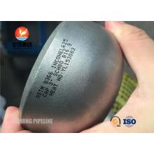 Butt Weld Fitting, ASTM B366 Inconel 625 Cap, ANSI B16.9 , Penetrant Inspection