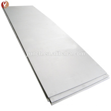 High Quality Pure Tungsten Sheet price per kg