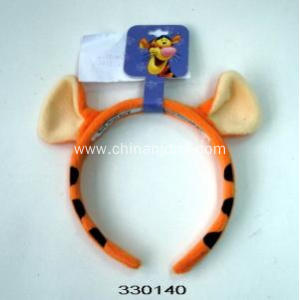Tiger  stripes hair hoop